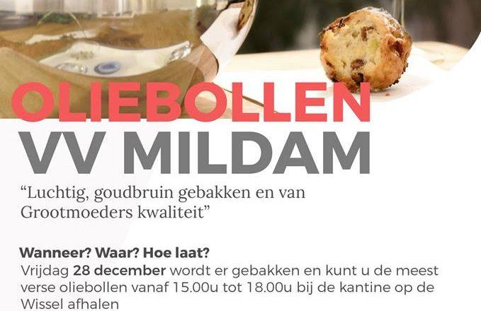 Oliebollenactie VV Mildam 2018
