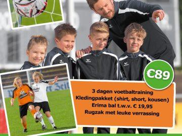 Erima Voetbaldagen 2019 bij VV Mildam