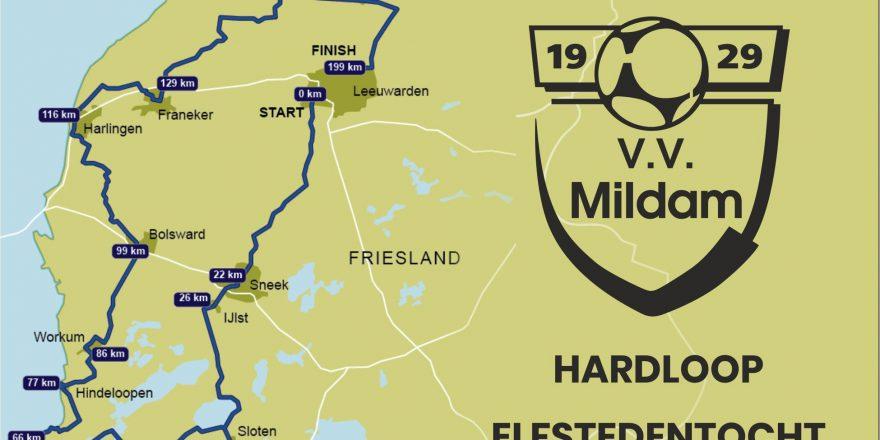 V.V. Mildam Hardloop Elfstedentocht